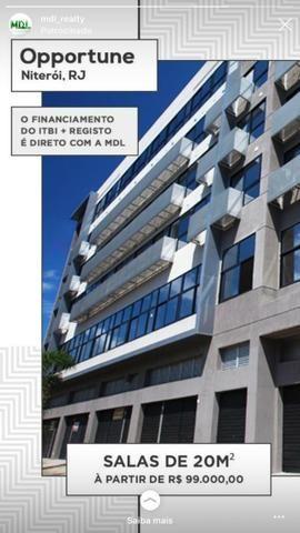 Opportune Offices - Sala comercial na Alameda São Boaventura