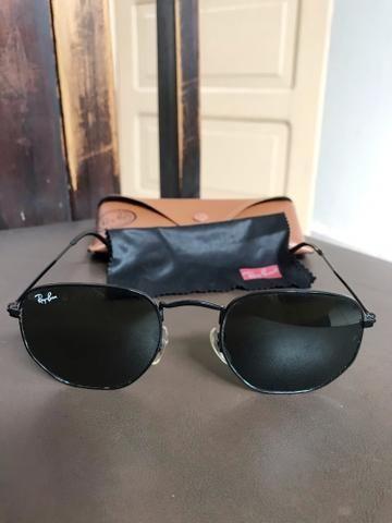 83d1bbe9f Óculos Ray Ban Hexagonal Original tamanho P (metade do preço ...