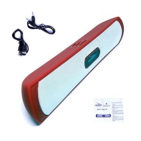 Caixa de Som Amplificada Portátil Bluetooth D-BH1032 Grasep Rádio Fm Pen Drive Mp3 - Foto 4