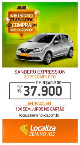 RENAULT SANDERO 2018/2019 1.0 12V SCE FLEX EXPRESSION MANUAL - Foto 6