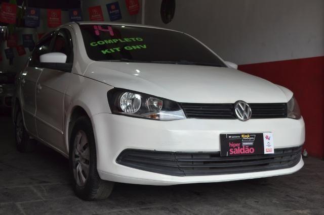 Volkswagen Voyage City 1.6 Flex com GNV, Completo. Aprovamos seu crédito mesmo sem renda - Foto 2