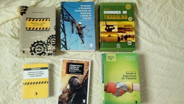 Livros Segurança do trabalho e normas