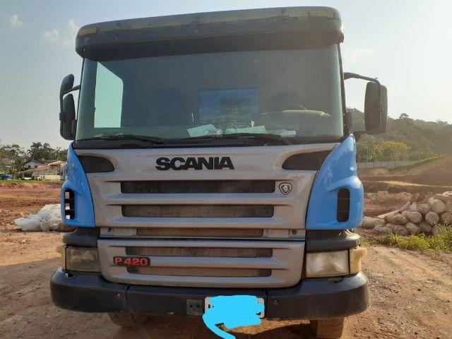 Vendo Caminhão Scania P/420 - Foto 5