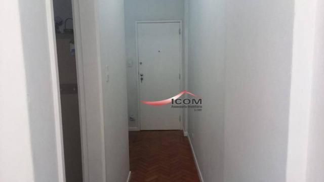 Apartamento com 1 dormitório à venda, 52 m² por R$ 430.000,00 - Catete - Rio de Janeiro/RJ - Foto 3