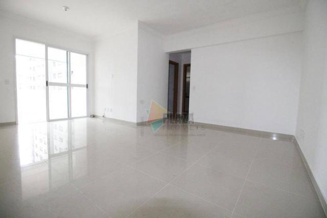 Apartamento para alugar, 100 m² por R$ 3.000,00/mês - Canto do Forte - Praia Grande/SP - Foto 2