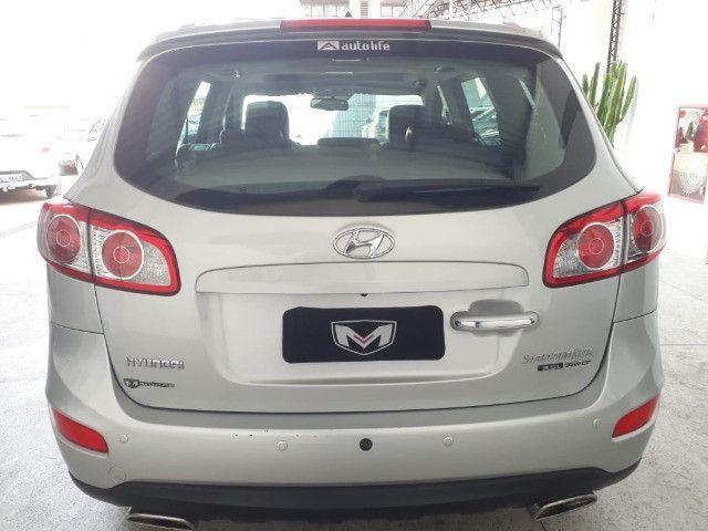 Hyundai Santa Fe 3.5 Mpfi GLS 7 L V6 2010/2011 Prata Blindado - Foto 6