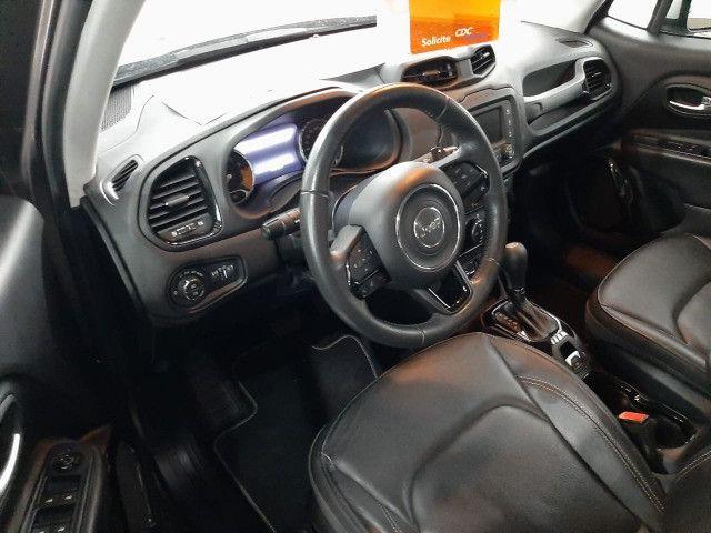 Jeep renegade limited automática 6 marchas único dono garantia banco couro multimídia - Foto 10