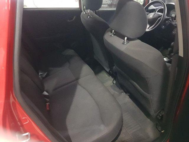 Honda Fit 2012 1.4 Flex LX Vermelho Estudo Troca e Financio - Foto 9