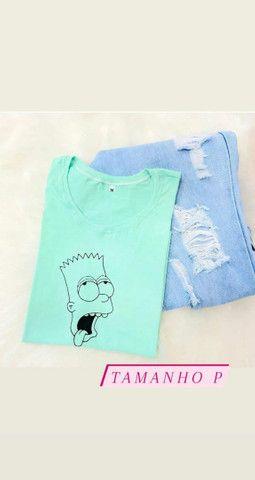 Combo de T-shirt Femininas  - Foto 5