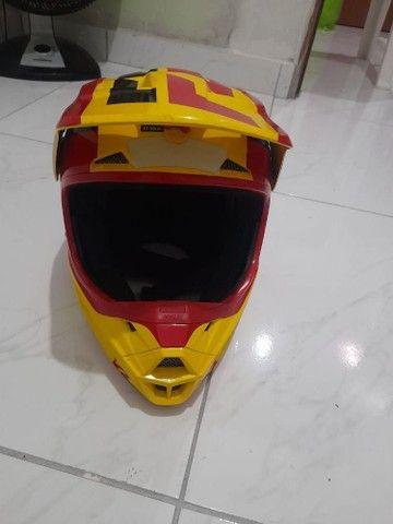 Vendo capacete Fox super novo - Foto 3