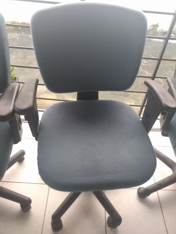 Só hoje! Cadeiras giratória para escritório - Foto 2