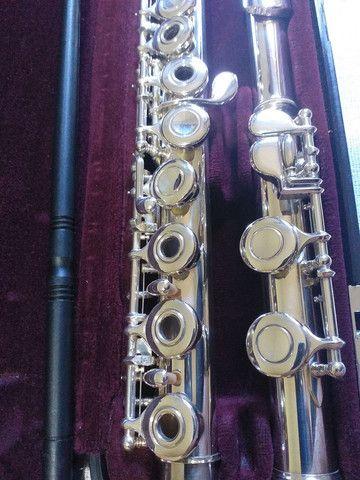 Flauta transversal yamaha 261 japan revisada  - Foto 2