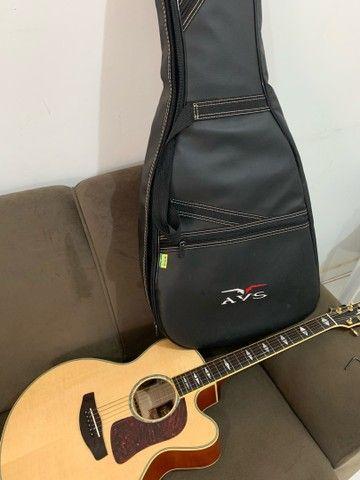 Violão Yamaha Jumbo CPX 1000 - Foto 2