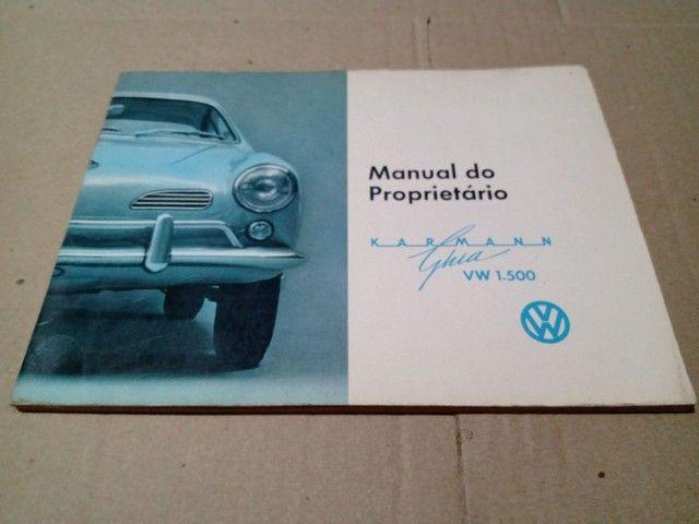 Manual Proprietário Volkswagen Todos Modelos e Versões Originais Fábrica - Foto 2