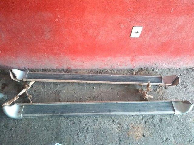 Kit estribo plataforma e quebra mato Ecosport até 2011 USADO. - Foto 3