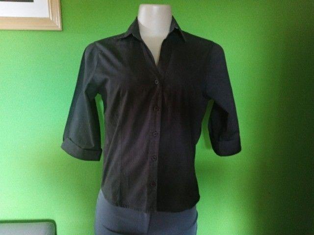 Camisa Feminina Preta -M - Foto 4