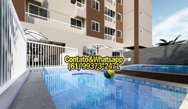 Apartamento em Goiania, 2Q (1Suíte), 55m2, Garagem, Lazer Completo! Parcela. - Foto 6
