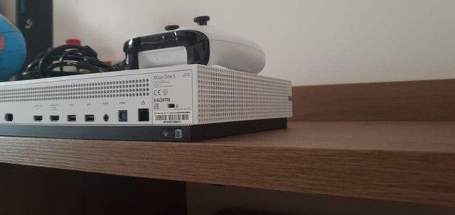 Xbox one S 1tb microsoft original semi novo - Foto 4