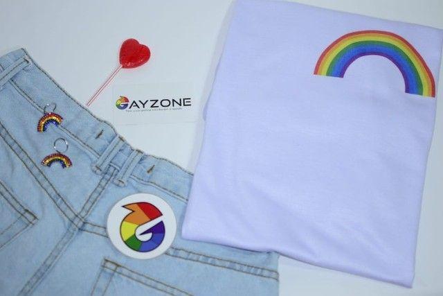 Camiseta - Arco-íris
