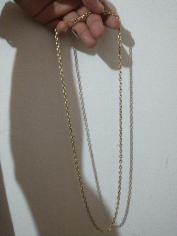 Cordão de ouro 15 gramas  - Foto 4