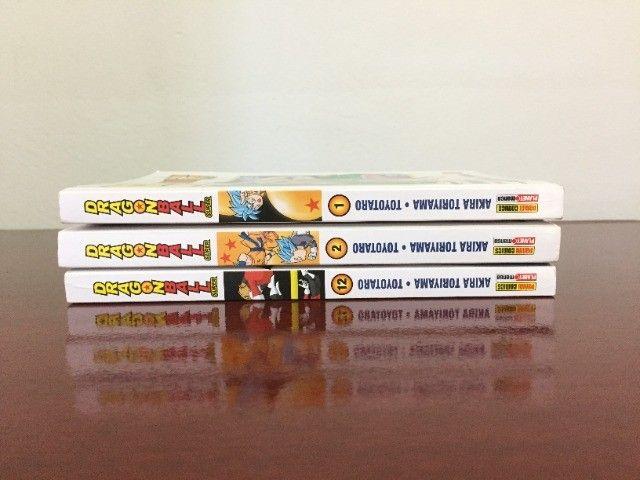 Mangá Dragon Ball Super - Vol. 1, 2 e 12 - Foto 3