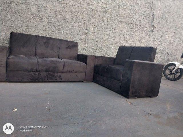 Jogo de sofá 2e3 lugar novo ? - Foto 3