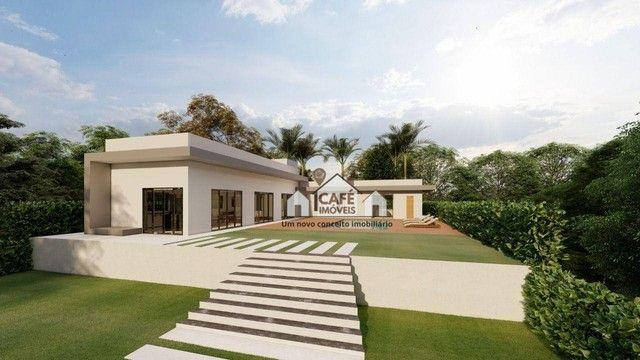Casa com 4 dormitórios à venda, 270 m² por R$ 950.000,00 - Condomínio Vale do Luar - Jabot