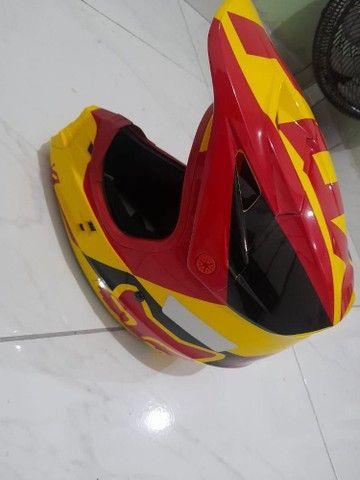 Vendo capacete Fox super novo - Foto 2