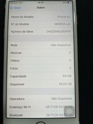 iPhone 6s 64Gb Rose Gold - Foto 5