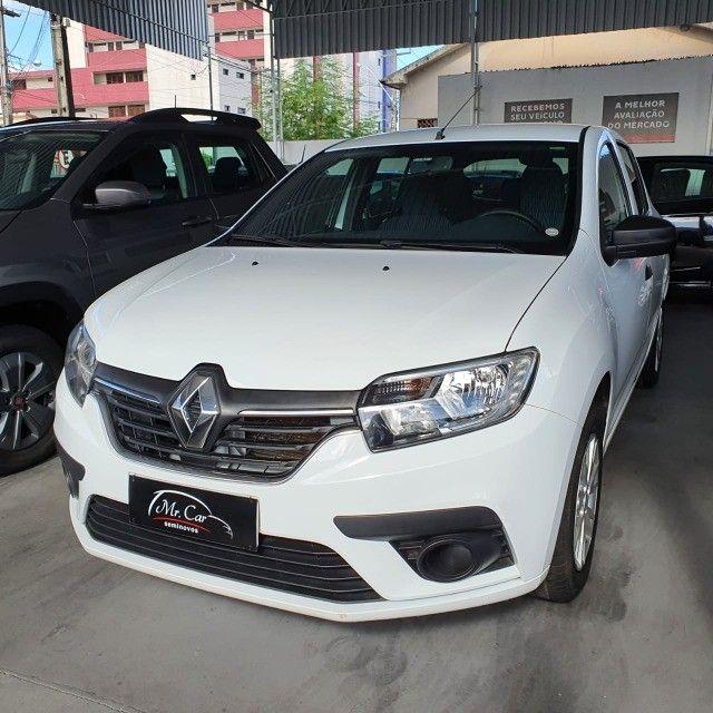 Renault Sandero Life 1.0 2020 Completo