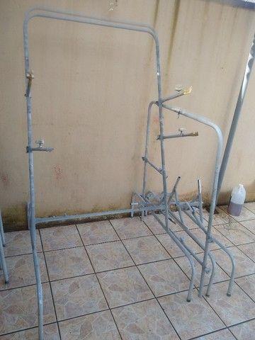 Cavaletes para preparação e pintura  - Foto 2