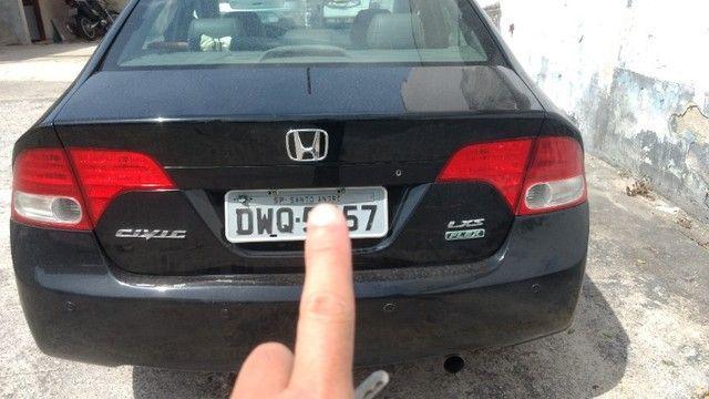 Honda civic lxs 2008 automático - Foto 3