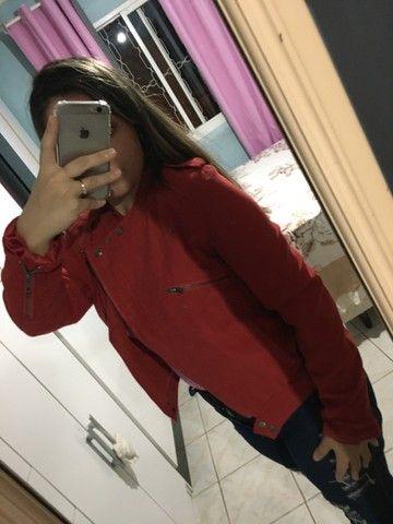 Jaqueta Importado Vermelha  - Foto 4