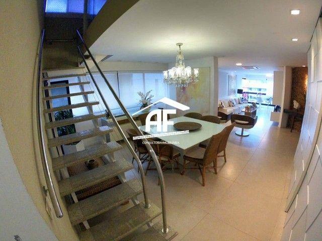Cobertura Duplex com Vista para o mar na Ponta Verde, 304m², 4/4 todos suítes - Foto 13