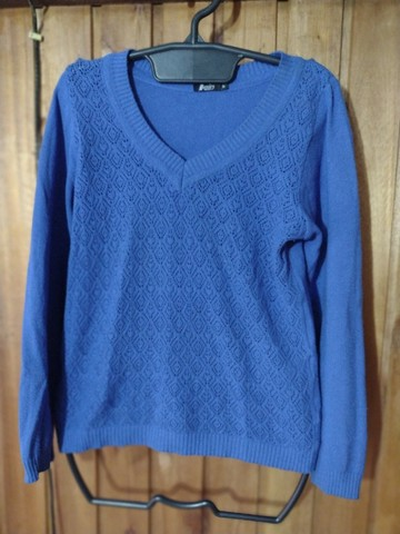 729 - Blusas de lã diversos modelos - Tam P - Foto 4