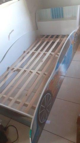 Cama carro infantil - Foto 3