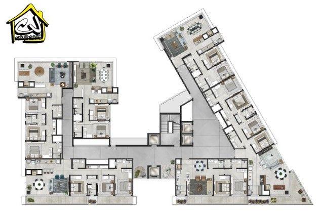 Lançamento c/ 3 Quartos - Praia Grande - 1 Vaga - Rooftop c/ Áreas Sociais - Foto 6