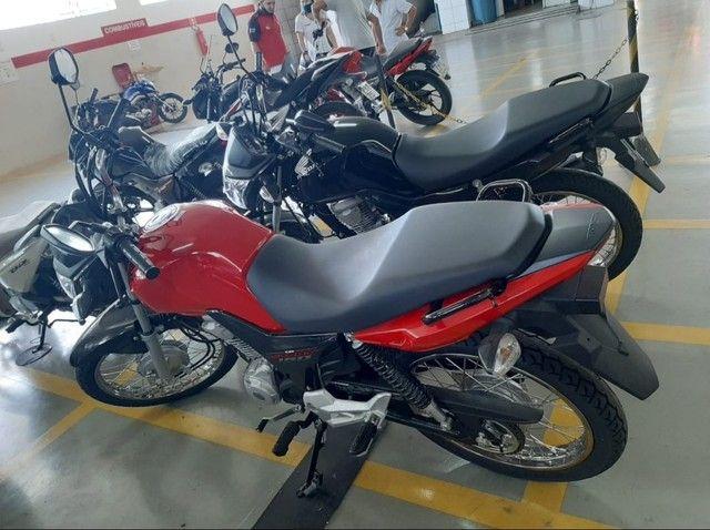 Moto Honda Start 160 Entrada: 1.335 Financiada!!! - Foto 4
