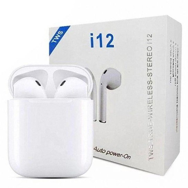 Fones i12 TWS Bluetooth - Foto 4