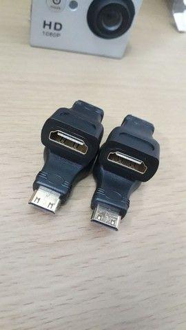 Adaptador mini HDMI x HDMI - Foto 2