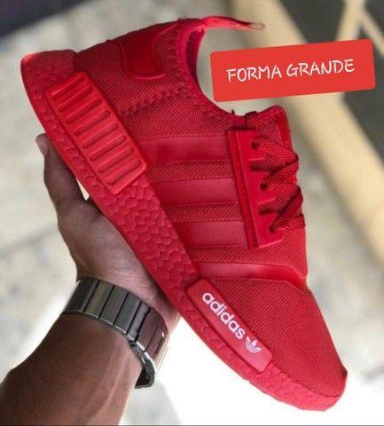 Vendo tênis Adidas nmd e nmd Ferrari ( 120 com entrega ) - Foto 3