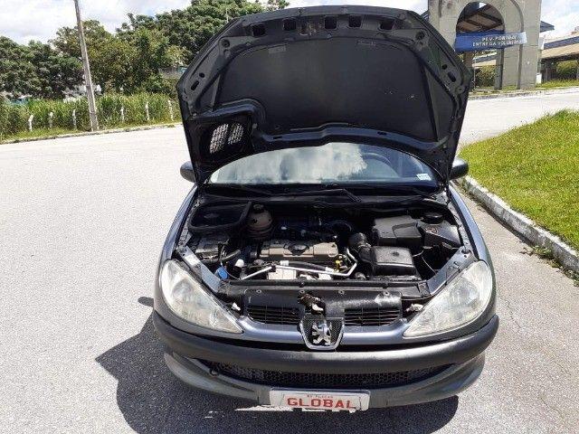 Direto Sem Consulta na Global-Peugeot 206 Pres 1.4 -2005 Completo r$7.790 Leia o Anúncio - Foto 5