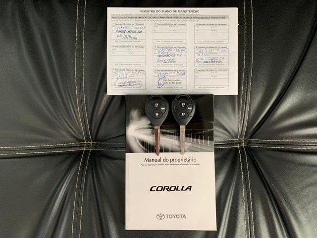 Toyota Corolla GLI 1.8 Flex Automtico Completo 2014 - Foto 20