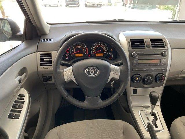 Toyota Corolla GLI 1.8 Flex Automtico Completo 2014 - Foto 11