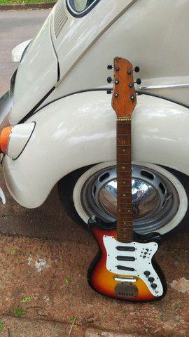 Guitarra Tonante Rei modelo Finder anos 80-90 - Foto 2
