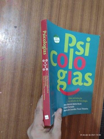 Livros de Psicologia - Livro Psicologias Ana M. Bahia Bock - Foto 3