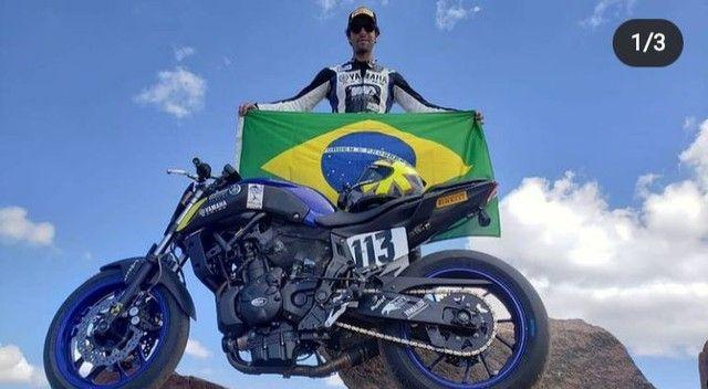 Tampa de Motor R&G Racing (Yamaha MT 07) - Foto 3