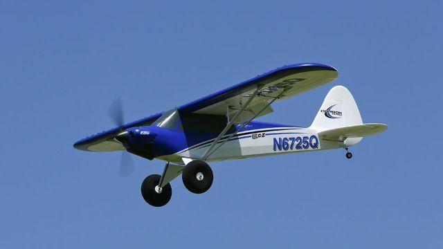 Aeromodelo Piper Cub Carbon Z