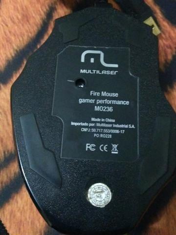 Mouse multilaser gamer performance