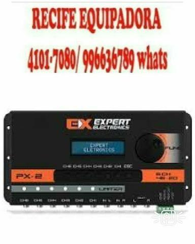 Processador de audio expert px2 novo f:996636789